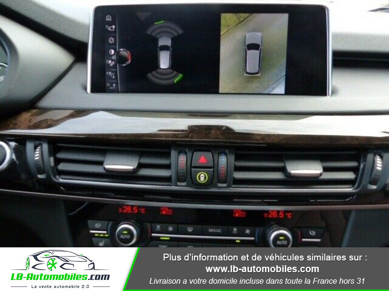 Bmw X5 xDrive50i 450 ch Noir occasion à Beaupuy - photo n°6