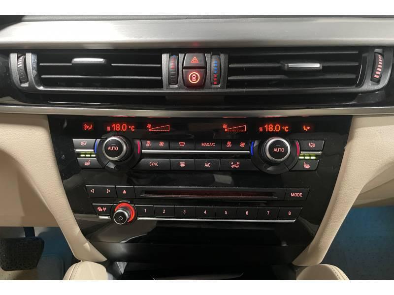 Bmw X6 F16 xDrive40d 313 ch Exclusive A Gris occasion à Carcassonne - photo n°11