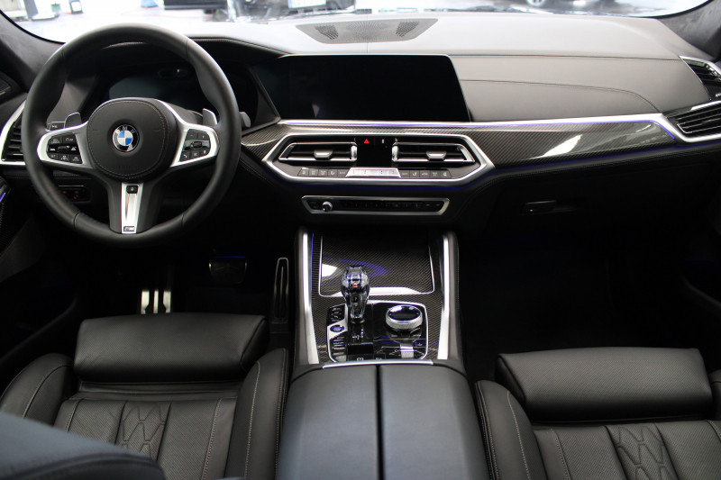Bmw X6 X6 xDrive30d 265 ch BVA8 M Sport 5p Noir occasion à Lescar - photo n°5