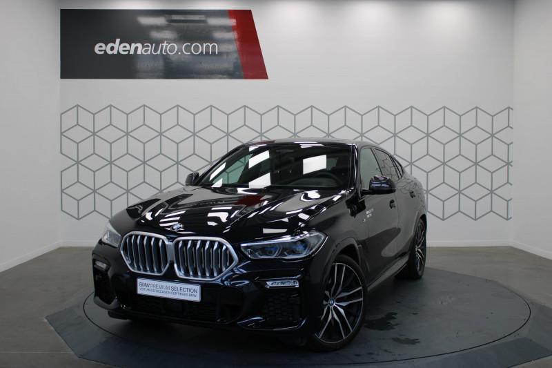 Bmw X6 X6 xDrive30d 265 ch BVA8 M Sport 5p Noir occasion à Lescar
