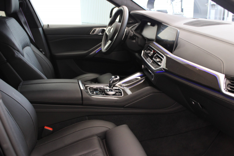 Bmw X6 X6 xDrive30d 265 ch BVA8 M Sport 5p Noir occasion à Lescar - photo n°8