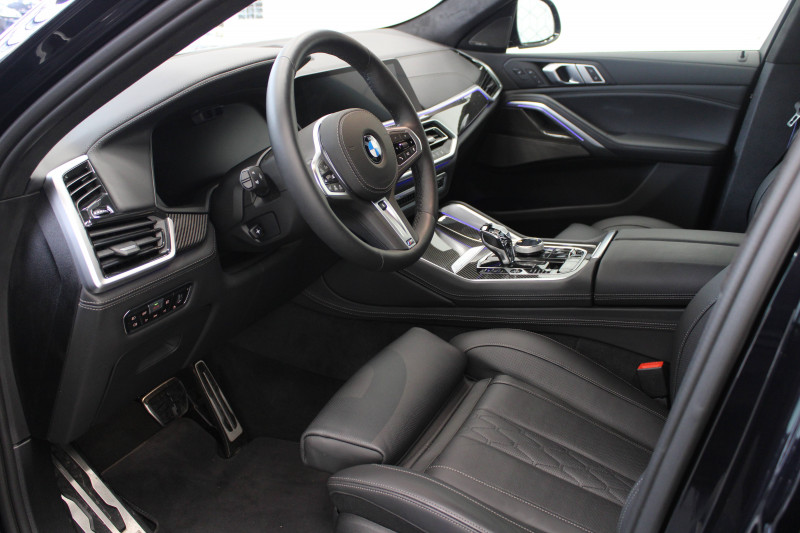 Bmw X6 X6 xDrive30d 265 ch BVA8 M Sport 5p Noir occasion à Lescar - photo n°6