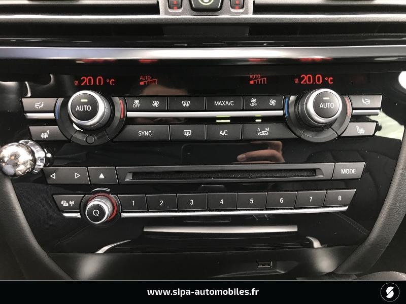 Bmw X6 xDrive 30dA 258ch Exclusive Noir occasion à Boé - photo n°18