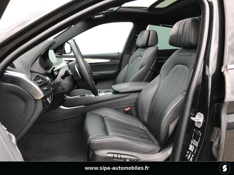 Bmw X6 xDrive 30dA 258ch Exclusive Noir occasion à Boé - photo n°16