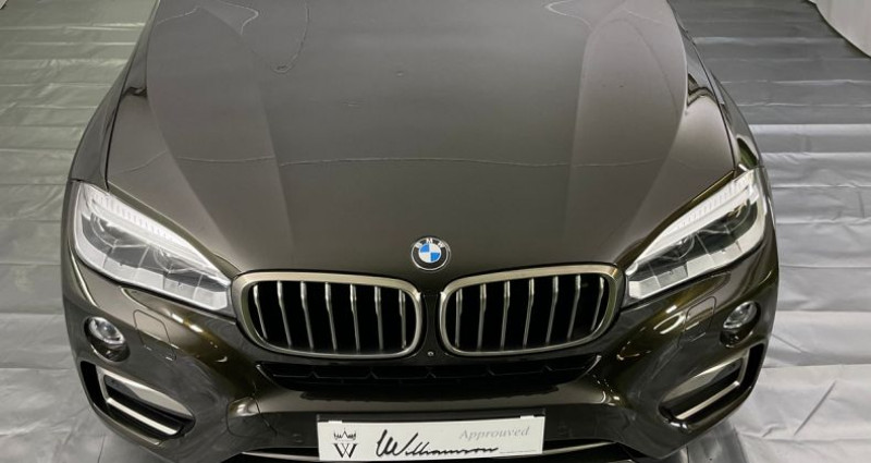 Bmw X6 xdrive 50i exclusive 450hp bva8 Marron occasion à Neuilly Sur Seine - photo n°2