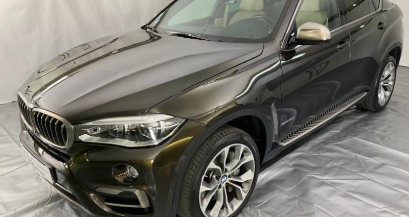 Bmw X6 xdrive 50i exclusive 450hp bva8 Marron occasion à Neuilly Sur Seine