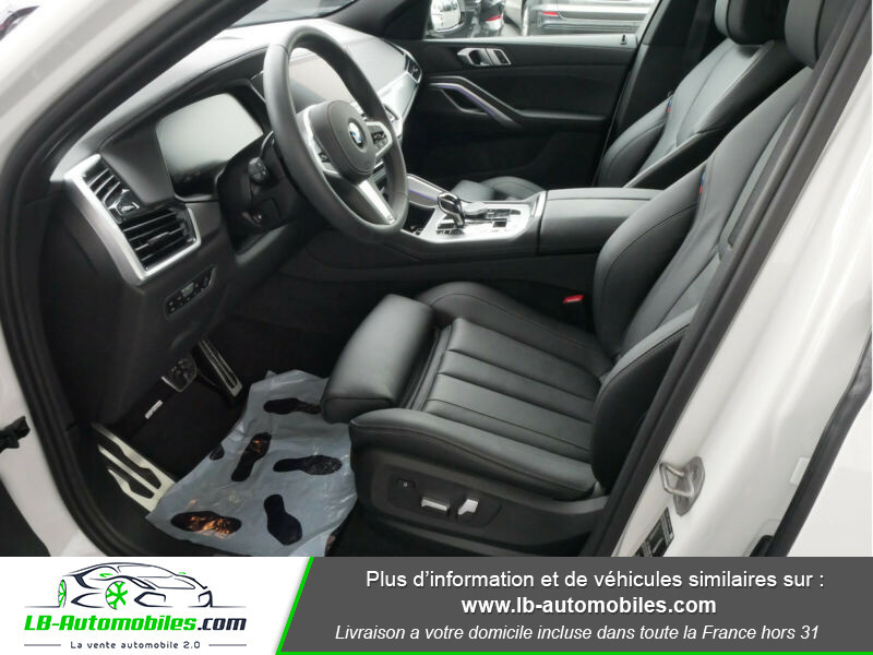 Bmw X6 xDrive30d 265 ch BVA8 / M Sport Blanc occasion à Beaupuy - photo n°9