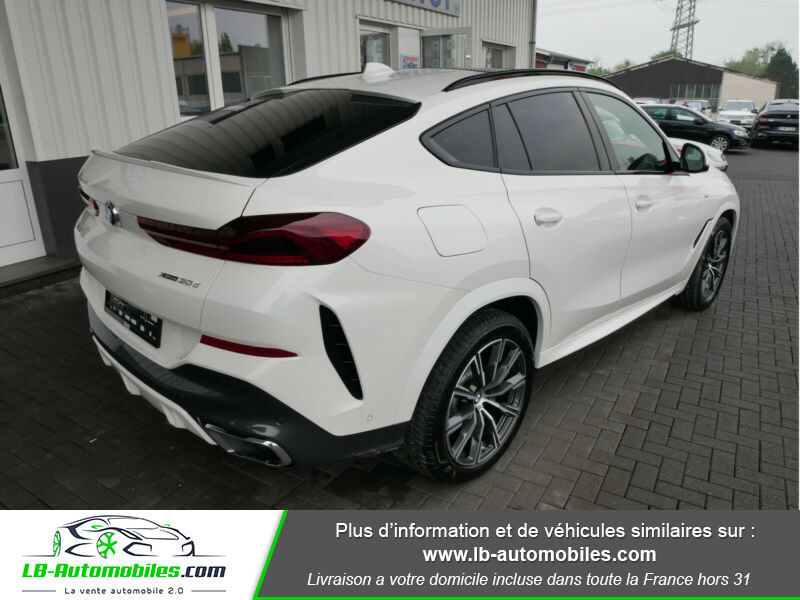 Bmw X6 xDrive30d 265 ch BVA8 / M Sport Blanc occasion à Beaupuy - photo n°11