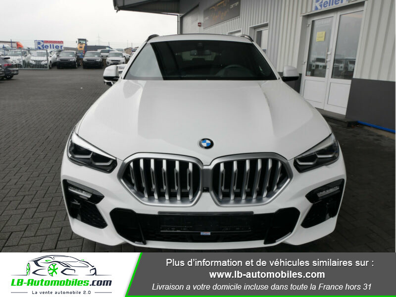 Bmw X6 xDrive30d 265 ch BVA8 / M Sport Blanc occasion à Beaupuy - photo n°13