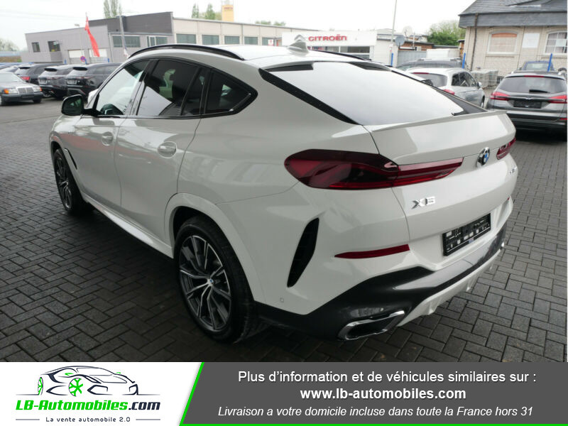 Bmw X6 xDrive30d 265 ch BVA8 / M Sport Blanc occasion à Beaupuy - photo n°3