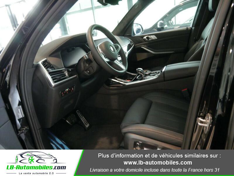 Bmw X7 xDrive40i 340 ch BVA8 Noir occasion à Beaupuy - photo n°4