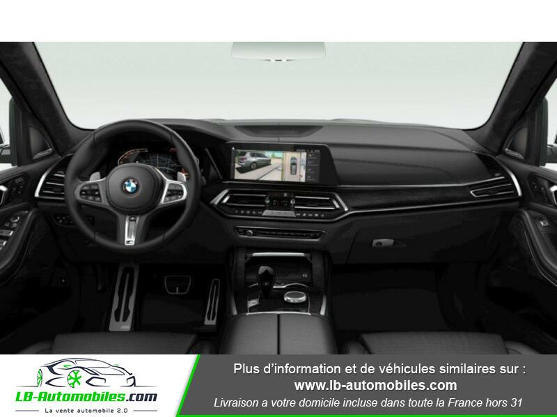 Bmw X7 xDrive40i 340 ch BVA8 Blanc occasion à Beaupuy - photo n°2