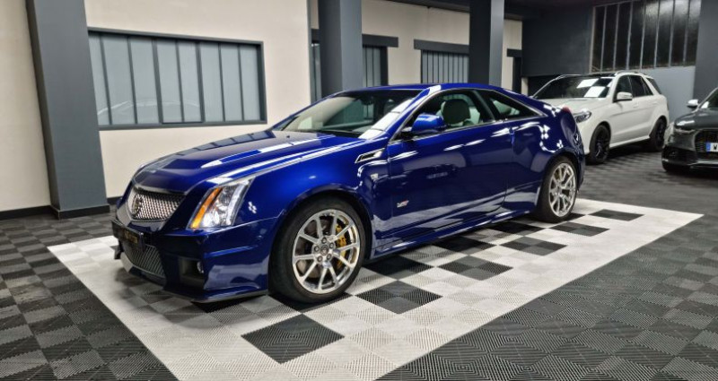 Cadillac CTS Coupé 564ch V8 6.2L Supercharged  occasion à MONTBRISON - photo n°1