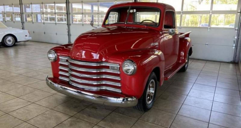 Chevrolet 3100 Pick-up 1952 prix tout compris Rouge occasion à PONTAULT COMBAULT - photo n°4