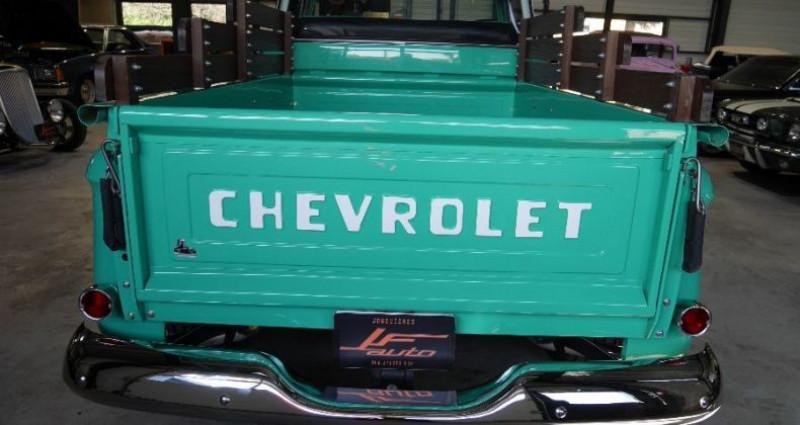 Chevrolet 3100 V8 BIG WINDOWS Vert occasion à Jonquières - photo n°4