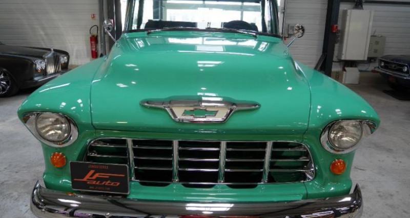 Chevrolet 3100 V8 BIG WINDOWS Vert occasion à Jonquières - photo n°2
