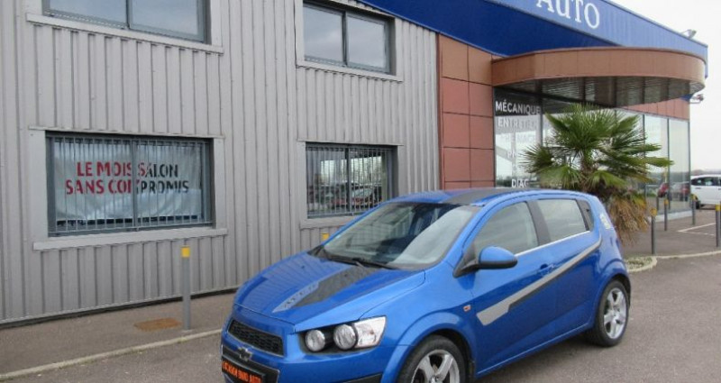 Chevrolet Aveo 1.4 115 cv Bleu occasion à Saint Parres Aux Tertres