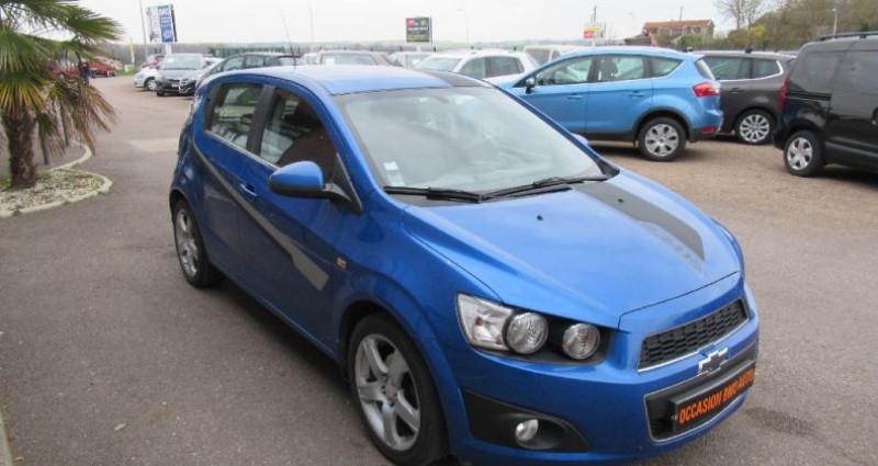 Chevrolet Aveo 1.4 115 cv Bleu occasion à Saint Parres Aux Tertres - photo n°2