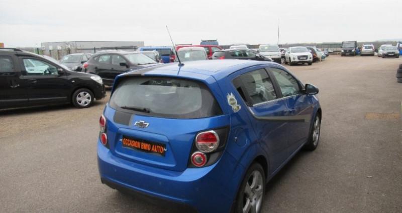 Chevrolet Aveo 1.4 115 cv Bleu occasion à Saint Parres Aux Tertres - photo n°3