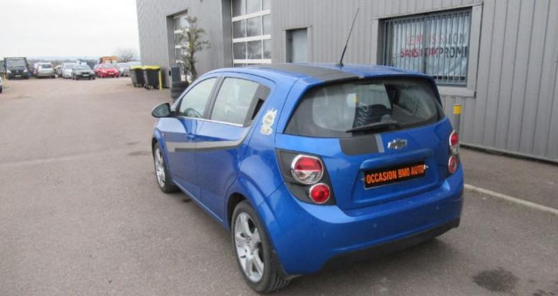 Chevrolet Aveo 1.4 115 cv Bleu occasion à Saint Parres Aux Tertres - photo n°4