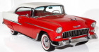 Chevrolet Bel Air 1955 - V8 350Ci - Boite Auto Rouge à Villennes Sur Seine 78
