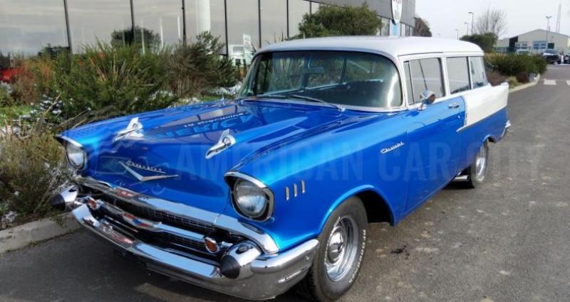 Chevrolet Bel Air HANDYMANS 150 BREAK DE CHASSE Bleu occasion à Le Coudray-montceaux