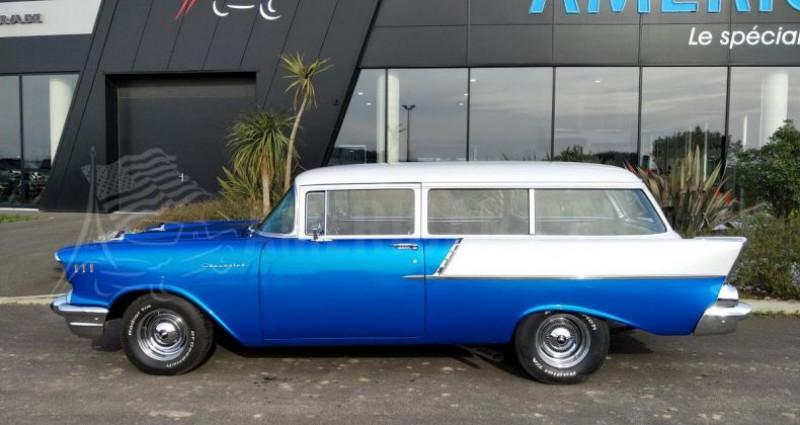 Chevrolet Bel Air HANDYMANS 150 BREAK DE CHASSE Bleu occasion à Le Coudray-montceaux - photo n°2