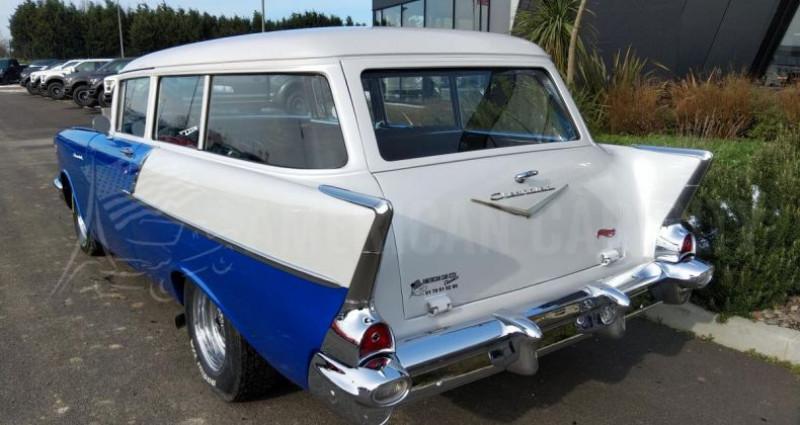Chevrolet Bel Air HANDYMANS 150 BREAK DE CHASSE Bleu occasion à Le Coudray-montceaux - photo n°3