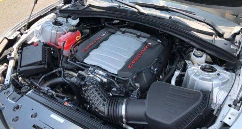 Chevrolet Camaro Ss 1le my19 v8 6.2l track perf package 455 hp Gris occasion à PONTAULT COMBAULT - photo n°6