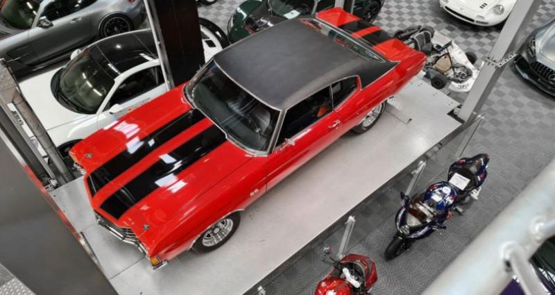 Chevrolet Chevelle CHEVELLE MALIBU 400 CI Coupé Rouge occasion à SAINT LAURENT DU VAR