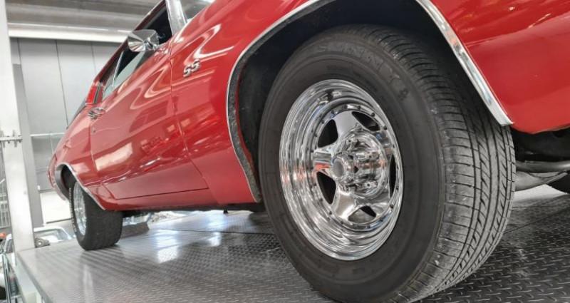 Chevrolet Chevelle CHEVELLE MALIBU 400 CI Coupé Rouge occasion à SAINT LAURENT DU VAR - photo n°5