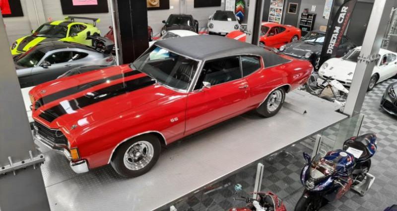 Chevrolet Chevelle CHEVELLE MALIBU 400 CI Coupé Rouge occasion à SAINT LAURENT DU VAR - photo n°4