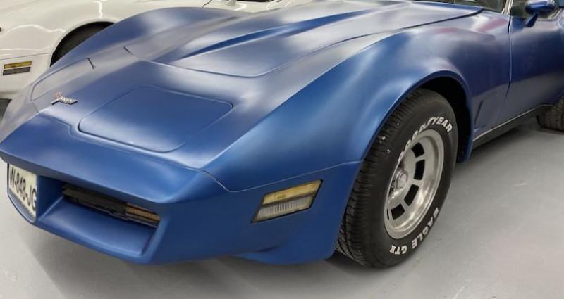 Chevrolet Corvette 1980 Bleu occasion à SAINT MARCEL LES VALENCE
