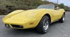Chevrolet Corvette 350 cid v-8 1974 prix tout compris Jaune à PONTAULT COMBAULT 77