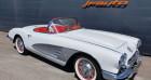 Chevrolet Corvette 4.6 Blanc 1959 - annonce de voiture en vente sur Auto Sélection.com
