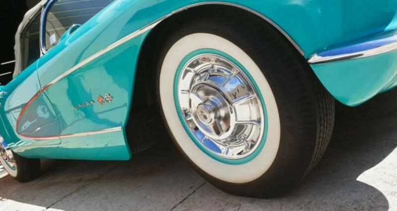 Chevrolet Corvette C1 CABRIOLET V8 4.6 283 CI Bleu occasion à SAINT LAURENT DU VAR - photo n°6