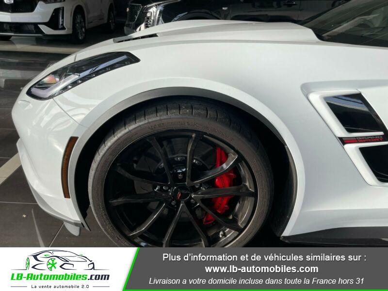 Chevrolet Corvette C7 TARGA 6.2 V8 GRAND SPORT 2LT AT8 Blanc occasion à Beaupuy - photo n°5