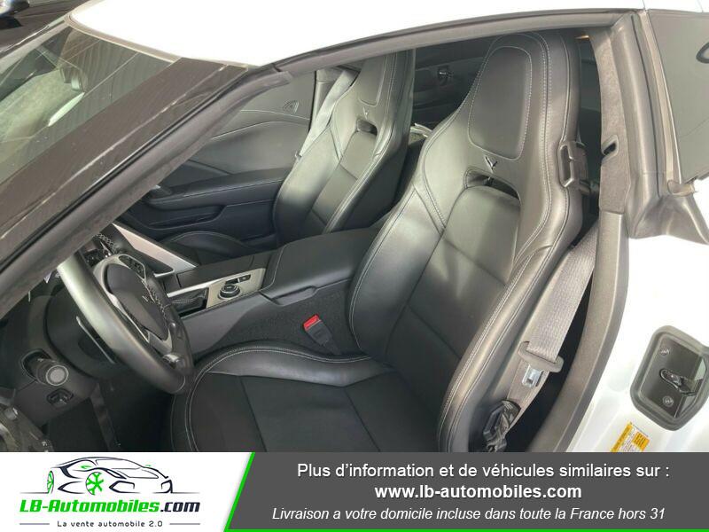 Chevrolet Corvette C7 TARGA 6.2 V8 GRAND SPORT 2LT AT8 Blanc occasion à Beaupuy - photo n°6