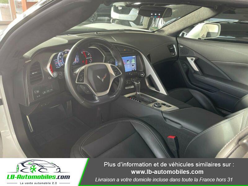 Chevrolet Corvette C7 TARGA 6.2 V8 GRAND SPORT 2LT AT8 Blanc occasion à Beaupuy - photo n°2