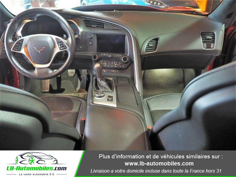 Chevrolet Corvette C7 TARGA 6.2 V8 Rouge occasion à Beaupuy - photo n°2