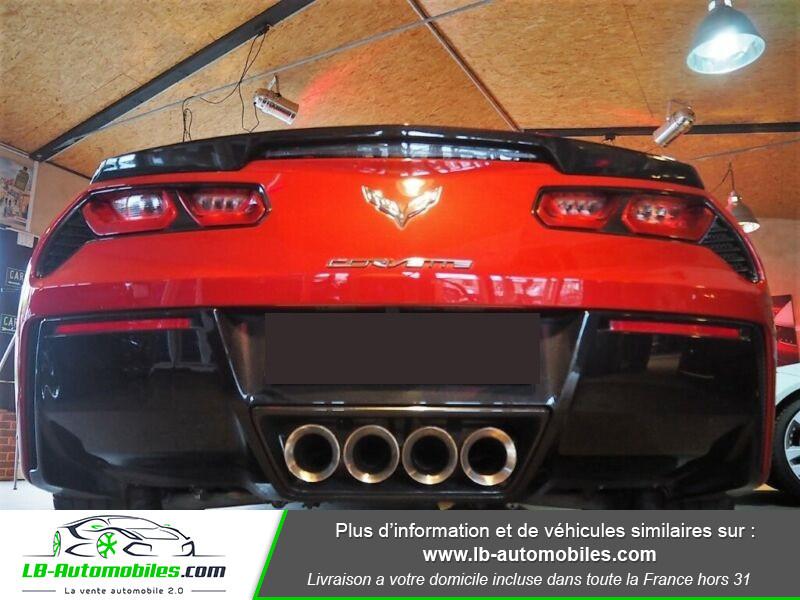 Chevrolet Corvette C7 TARGA 6.2 V8 Rouge occasion à Beaupuy - photo n°12