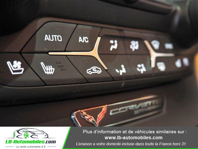 Chevrolet Corvette C7 TARGA 6.2 V8 Rouge occasion à Beaupuy - photo n°9