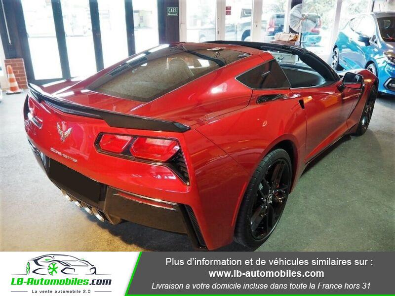 Chevrolet Corvette C7 TARGA 6.2 V8 Rouge occasion à Beaupuy - photo n°3