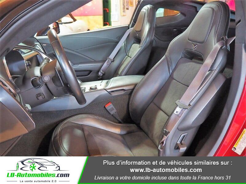 Chevrolet Corvette C7 TARGA 6.2 V8 Rouge occasion à Beaupuy - photo n°4