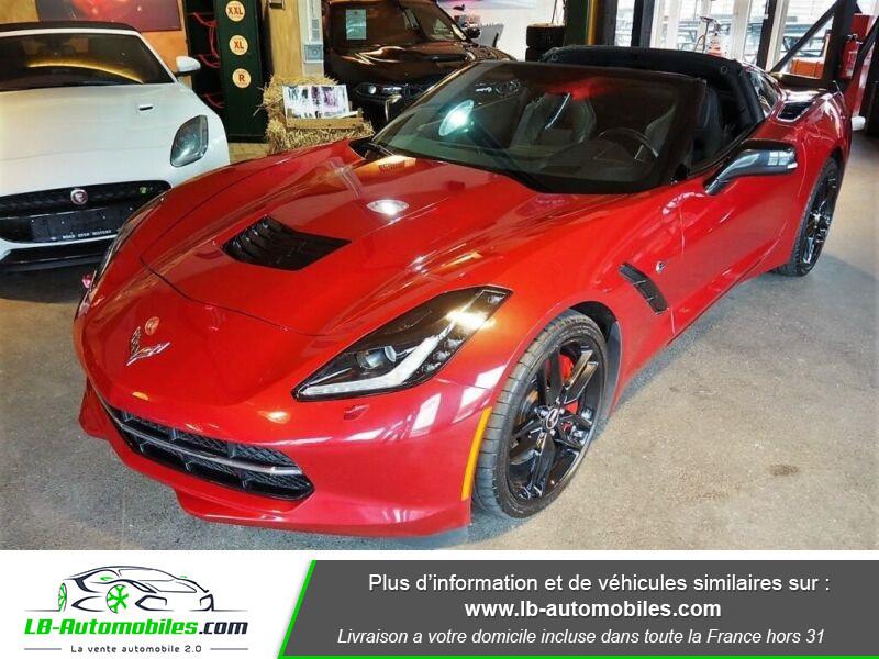 Chevrolet Corvette C7 TARGA 6.2 V8 Rouge occasion à Beaupuy