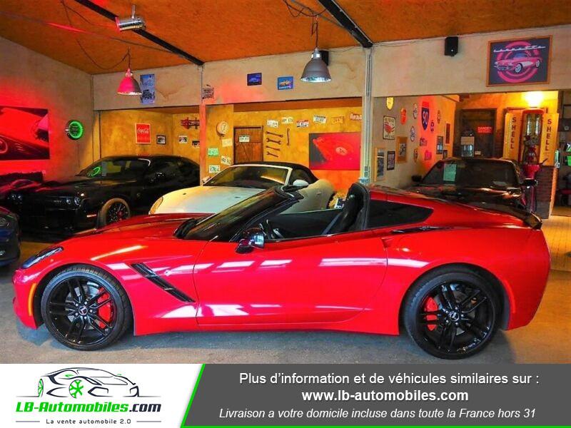 Chevrolet Corvette C7 TARGA 6.2 V8 Rouge occasion à Beaupuy - photo n°13