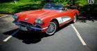 Chevrolet Corvette Cabriolet 1959 - V8 283Ci - Boite Manuelle Rouge à Villennes Sur Seine 78