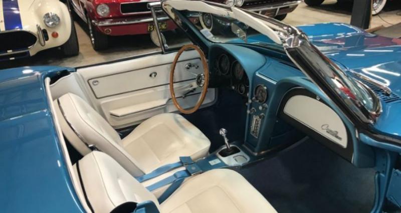 Chevrolet Corvette FUEL INJECTED Bleu occasion à Jonquières - photo n°6