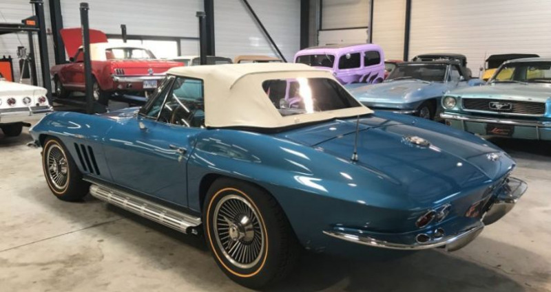 Chevrolet Corvette FUEL INJECTED Bleu occasion à Jonquières - photo n°4