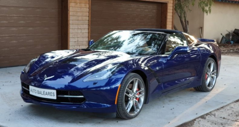 Chevrolet Corvette STINRAY Bleu occasion à Perpignan